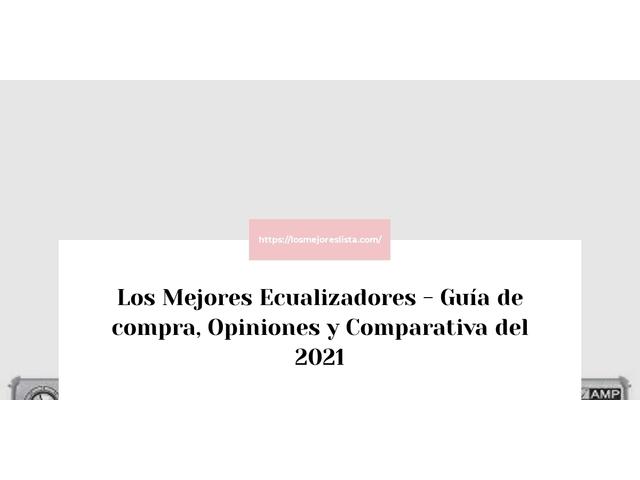 Los Mejores Ecualizadores – Guía de compra, Opiniones y Comparativa del 2021 (España)