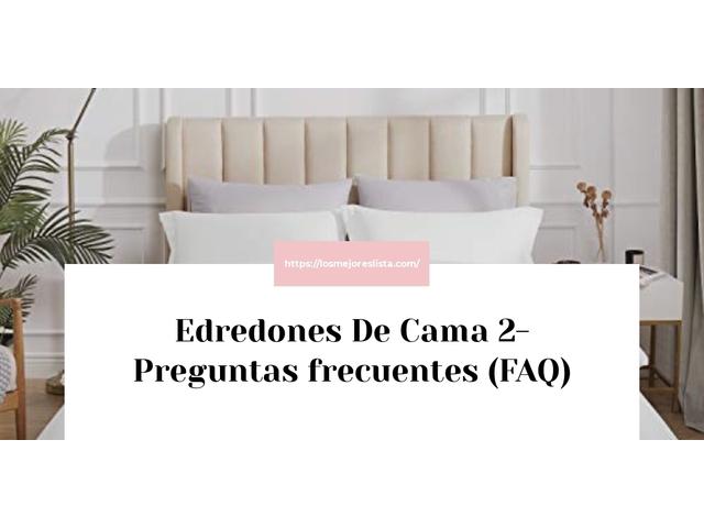 Los Mejores Edredones De Cama 2 – Guía de compra, Opiniones y Comparativa del 2021 (España)
