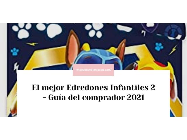 Los Mejores Edredones Infantiles 2 – Guía de compra, Opiniones y Comparativa del 2021 (España)