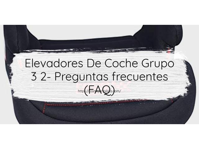Los Mejores Elevadores De Coche Grupo 3 2 – Guía de compra, Opiniones y Comparativa del 2021 (España)