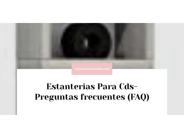 Los Mejores Estanterias Para Cds – Guía de compra, Opiniones y Comparativa del 2021 (España)