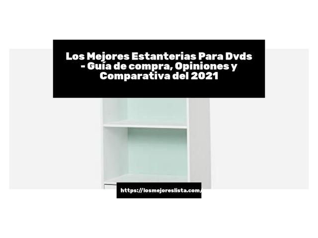 Los Mejores Estanterias Para Dvds – Guía de compra, Opiniones y Comparativa del 2021 (España)