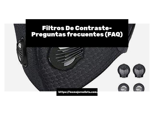 Los Mejores Filtros De Contraste – Guía de compra, Opiniones y Comparativa del 2021 (España)