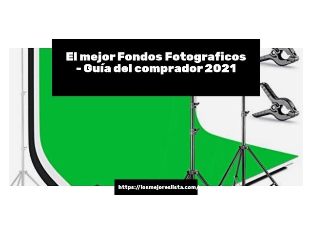 Los Mejores Fondos Fotograficos – Guía de compra, Opiniones y Comparativa del 2021 (España)