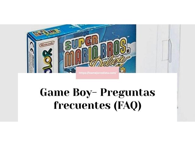Los Mejores Game Boy – Guía de compra, Opiniones y Comparativa del 2021 (España)
