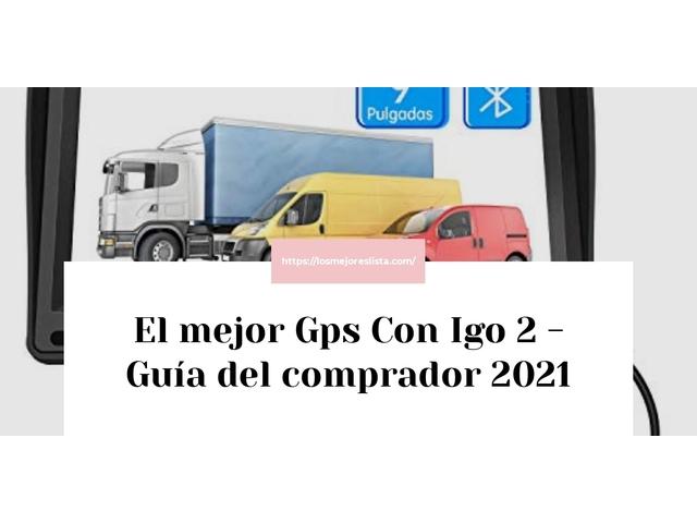 Los Mejores Gps Con Igo 2 – Guía de compra, Opiniones y Comparativa del 2021 (España)