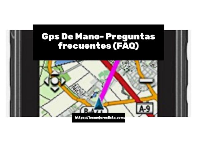 Los Mejores Gps De Mano – Guía de compra, Opiniones y Comparativa del 2021 (España)