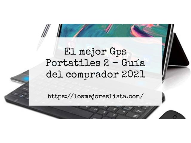 Los Mejores Gps Portatiles 2 – Guía de compra, Opiniones y Comparativa del 2021 (España)