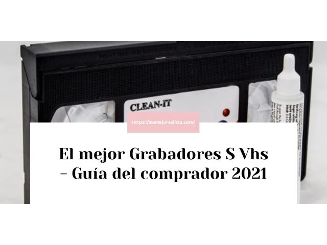 Los Mejores Grabadores S Vhs – Guía de compra, Opiniones y Comparativa del 2021 (España)