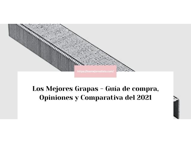 Los Mejores Grapas – Guía de compra, Opiniones y Comparativa del 2021 (España)