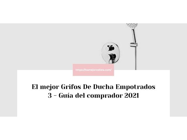 Los Mejores Grifos De Ducha Empotrados 3 – Guía de compra, Opiniones y Comparativa del 2021 (España)