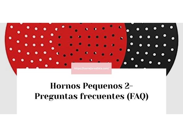 Los Mejores Hornos Pequenos 2 – Guía de compra, Opiniones y Comparativa del 2021 (España)