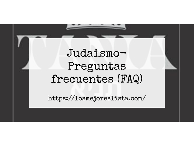 Los Mejores Judaismo – Guía de compra, Opiniones y Comparativa del 2021 (España)