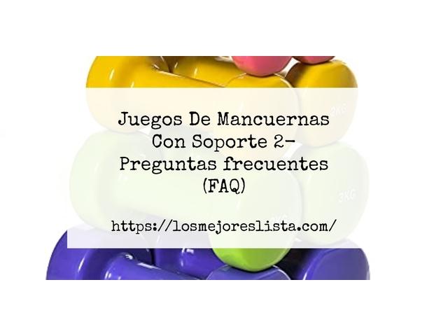 Los Mejores Juegos De Mancuernas Con Soporte 2 – Guía de compra, Opiniones y Comparativa del 2021 (España)