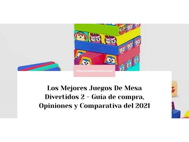 Los Mejores Juegos De Mesa Divertidos 2 – Guía de compra, Opiniones y Comparativa del 2021 (España)