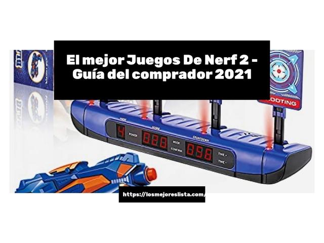 Los Mejores Juegos De Nerf 2 – Guía de compra, Opiniones y Comparativa del 2021 (España)