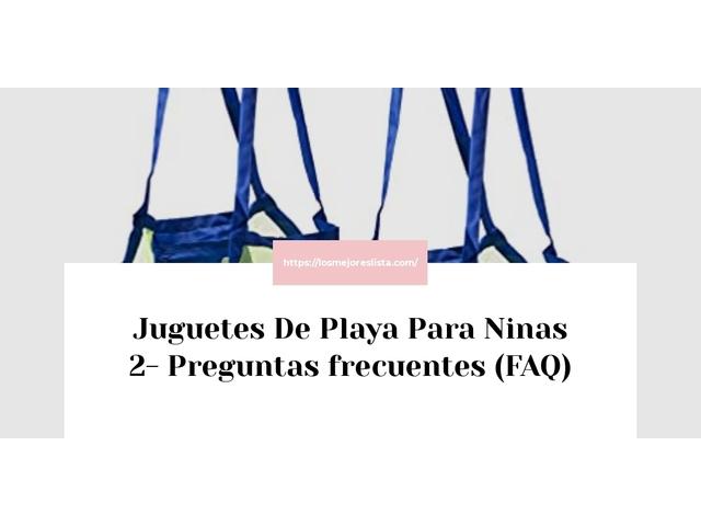 Los Mejores Juguetes De Playa Para Ninas 2 – Guía de compra, Opiniones y Comparativa del 2021 (España)