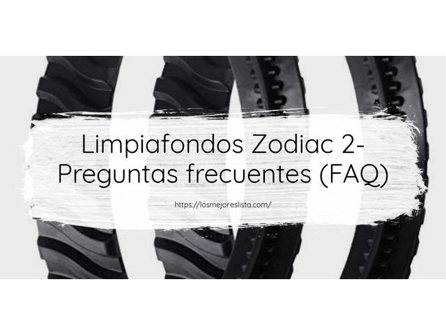 Los Mejores Limpiafondos Zodiac 2 – Guía de compra, Opiniones y Comparativa del 2021 (España)