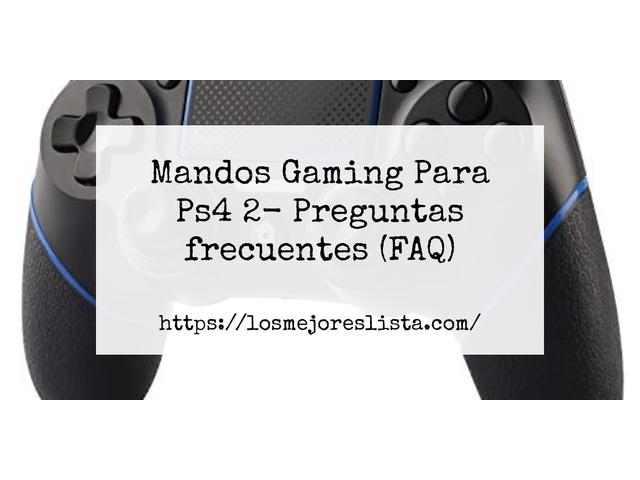 Los Mejores Mandos Gaming Para Ps4 2 – Guía de compra, Opiniones y Comparativa del 2021 (España)