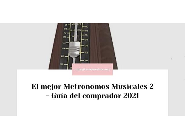 Los Mejores Metronomos Musicales 2 – Guía de compra, Opiniones y Comparativa del 2021 (España)