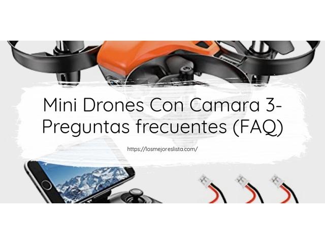 Los Mejores Mini Drones Con Camara 3 – Guía de compra, Opiniones y Comparativa del 2021 (España)