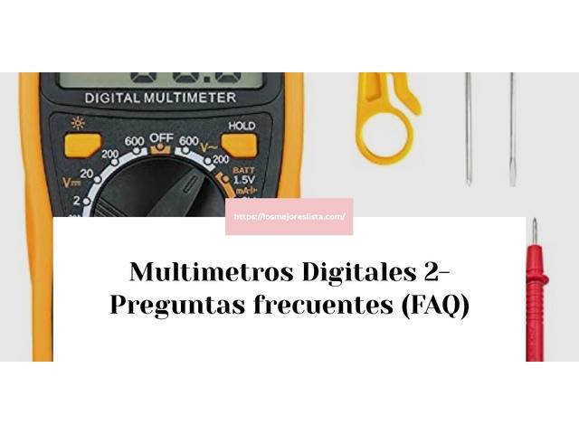 Los Mejores Multimetros Digitales 2 – Guía de compra, Opiniones y Comparativa del 2021 (España)