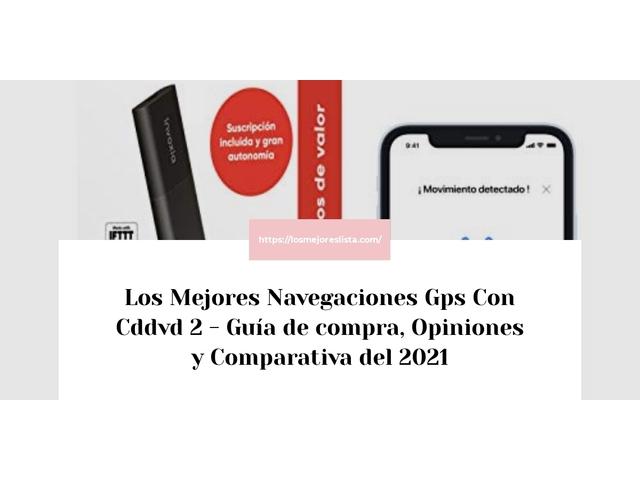 Los Mejores Navegaciones Gps Con Cddvd 2 – Guía de compra, Opiniones y Comparativa del 2021 (España)