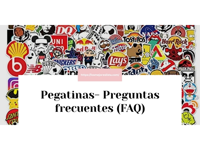 Los Mejores Pegatinas – Guía de compra, Opiniones y Comparativa del 2021 (España)