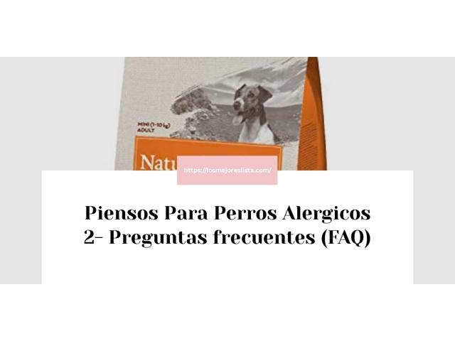 Los Mejores Piensos Para Perros Alergicos 2 – Guía de compra, Opiniones y Comparativa del 2021 (España)