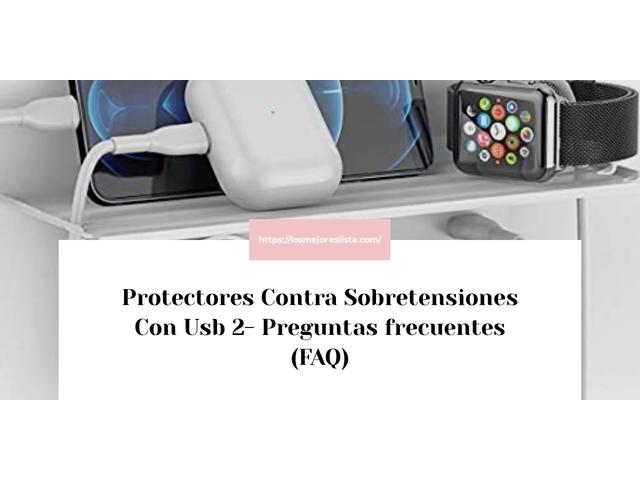 Los Mejores Protectores Contra Sobretensiones Con Usb 2 – Guía de compra, Opiniones y Comparativa del 2021 (España)