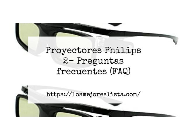 Los Mejores Proyectores Philips 2 – Guía de compra, Opiniones y Comparativa del 2021 (España)