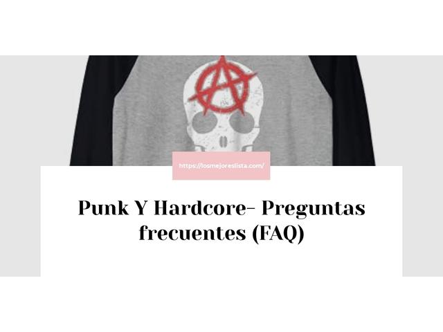 Los Mejores Punk Y Hardcore – Guía de compra, Opiniones y Comparativa del 2021 (España)