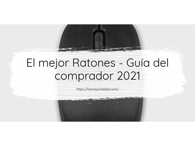 Los Mejores Ratones – Guía de compra, Opiniones y Comparativa del 2021 (España)