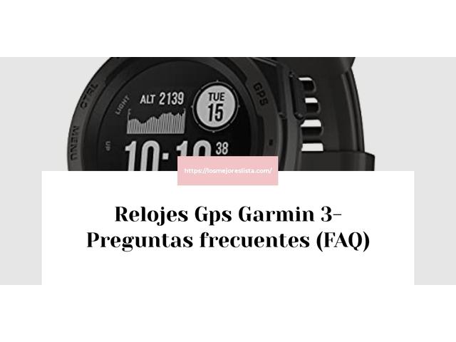 Los Mejores Relojes Gps Garmin 3 – Guía de compra, Opiniones y Comparativa del 2021 (España)