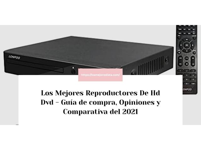 Los Mejores Reproductores De Hd Dvd – Guía de compra, Opiniones y Comparativa del 2021 (España)