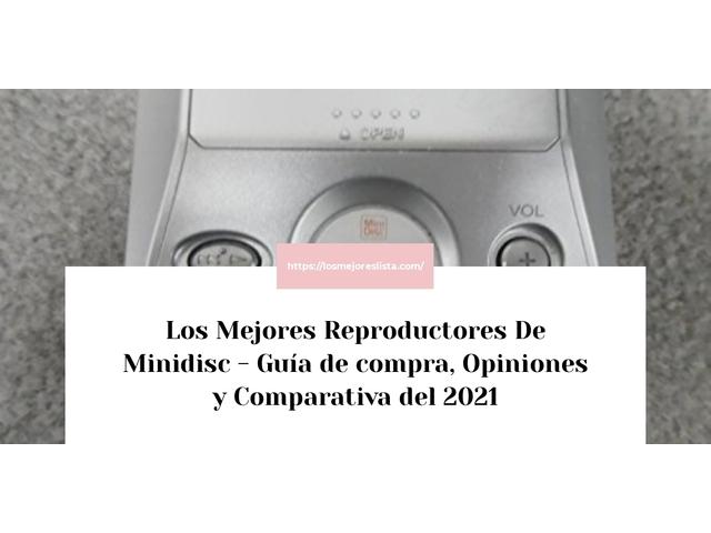 Los Mejores Reproductores De Minidisc – Guía de compra, Opiniones y Comparativa del 2021 (España)