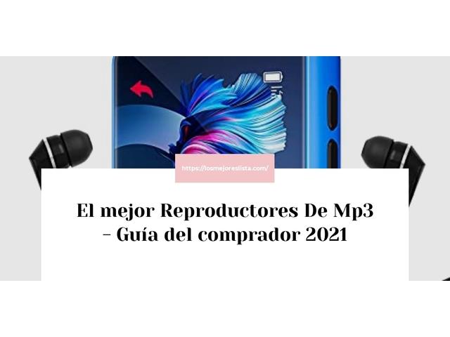 Los Mejores Reproductores De Mp3 – Guía de compra, Opiniones y Comparativa del 2021 (España)