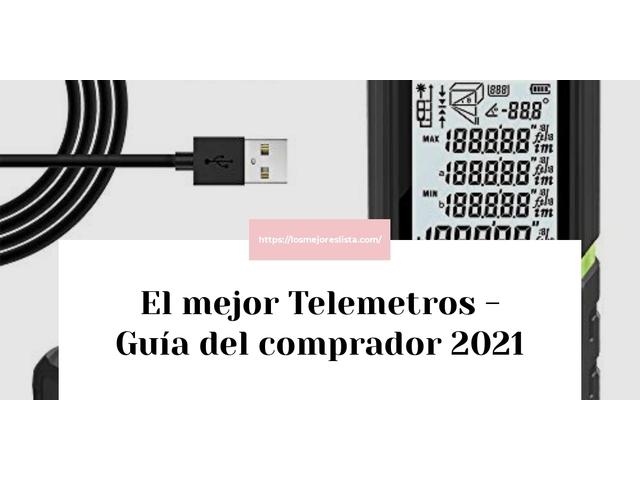 Los Mejores Telemetros – Guía de compra, Opiniones y Comparativa del 2021 (España)