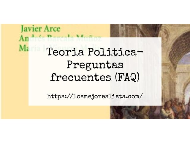 Los Mejores Teoria Politica – Guía de compra, Opiniones y Comparativa del 2021 (España)